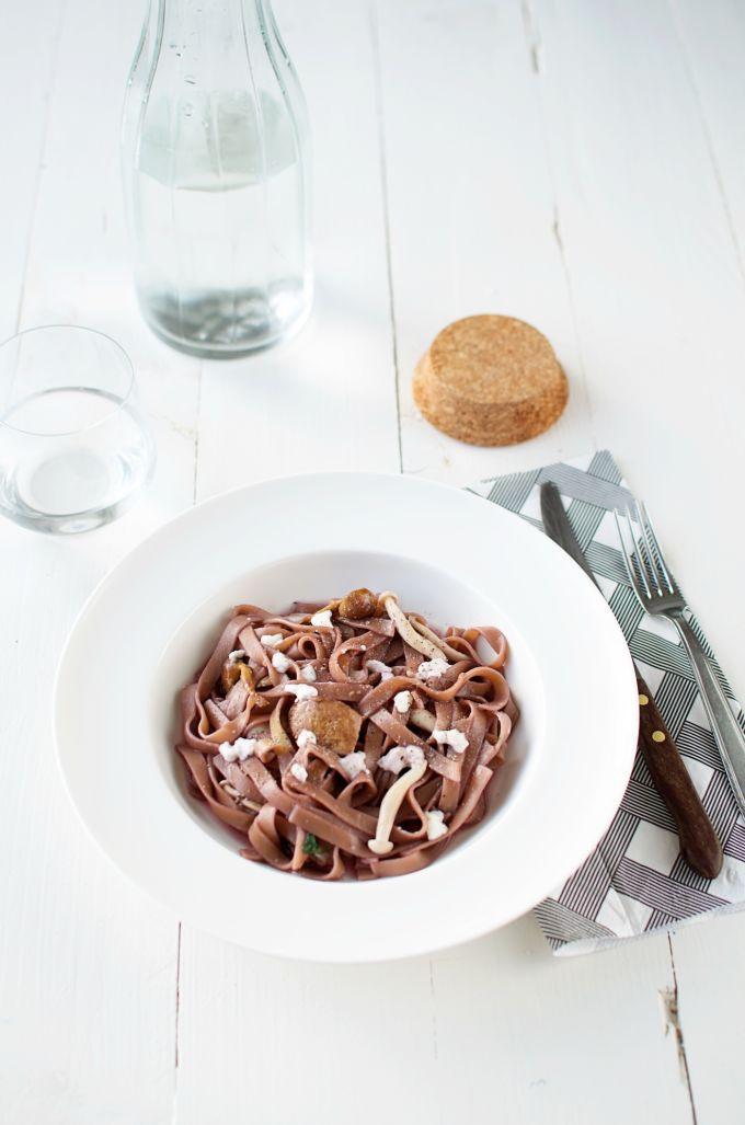 Rode wijn pasta recept