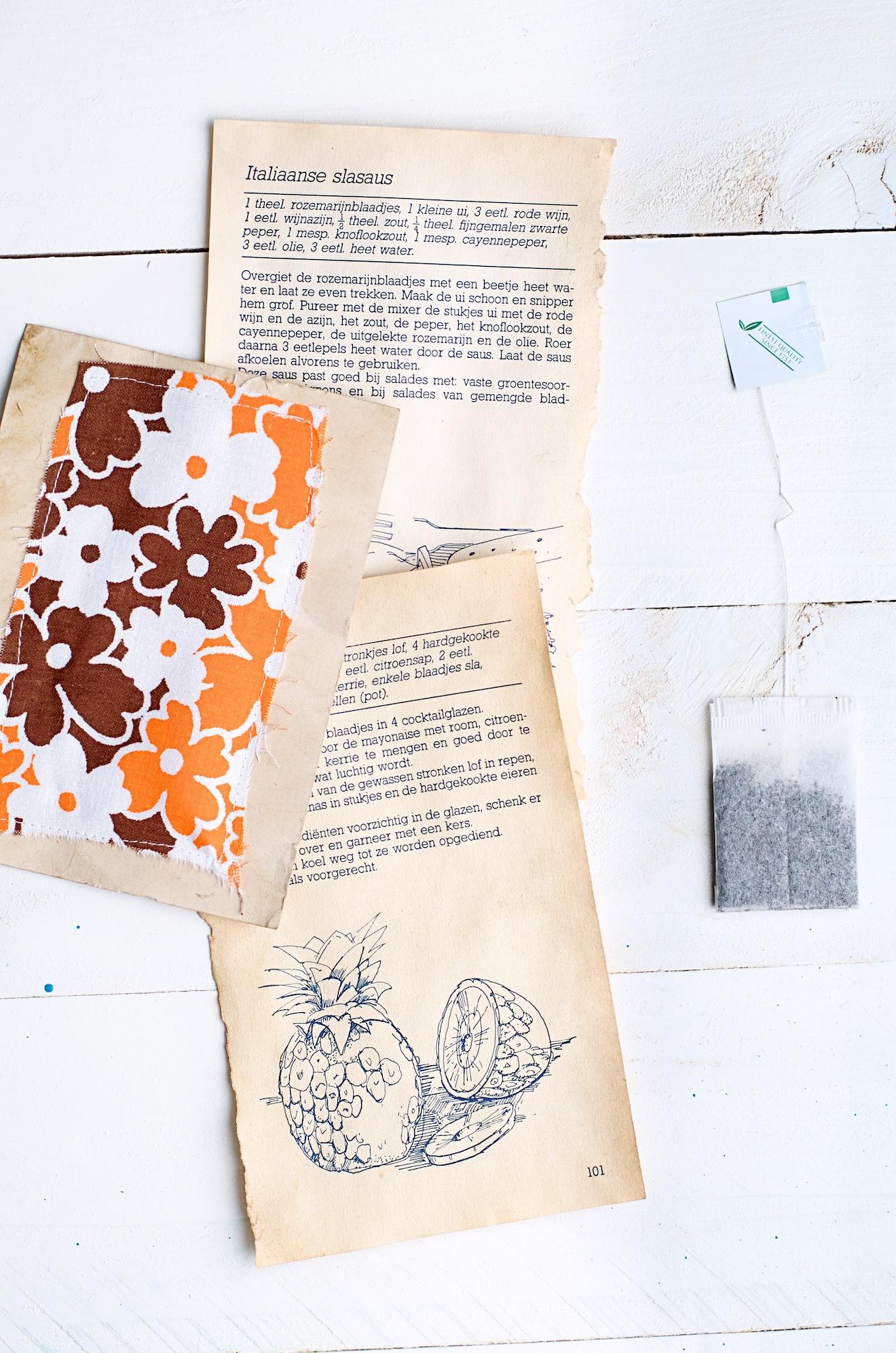 zo maak je papier oud