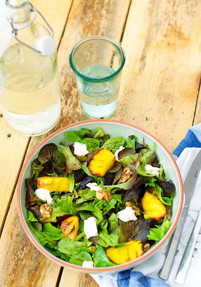 gegrilde perziken salade -1 (2)