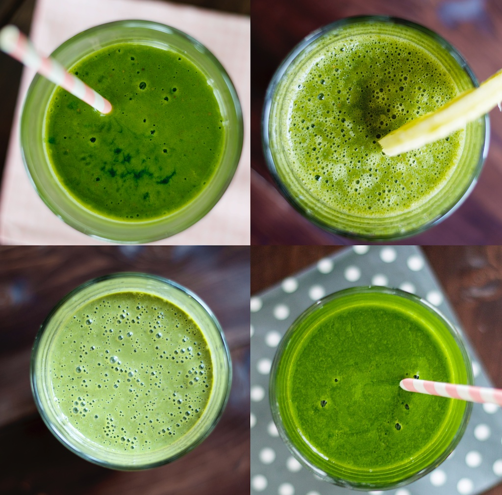 zo maak je groene smoothies