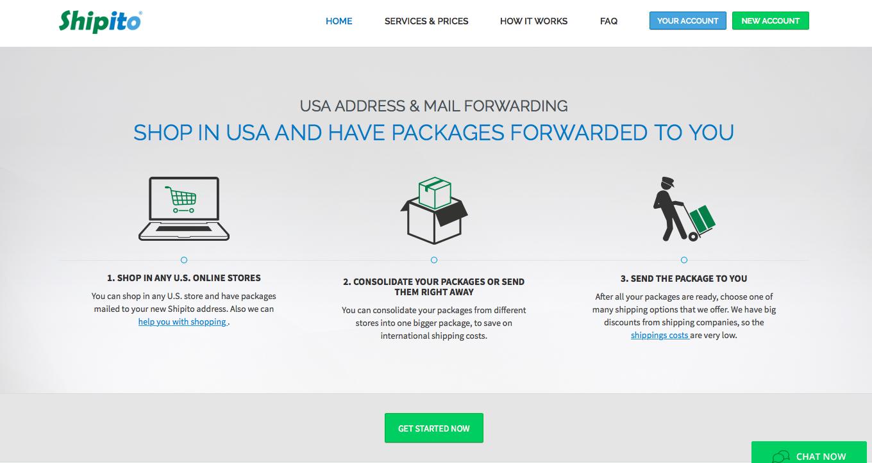 hoe bestel je een pakketje uit amerika