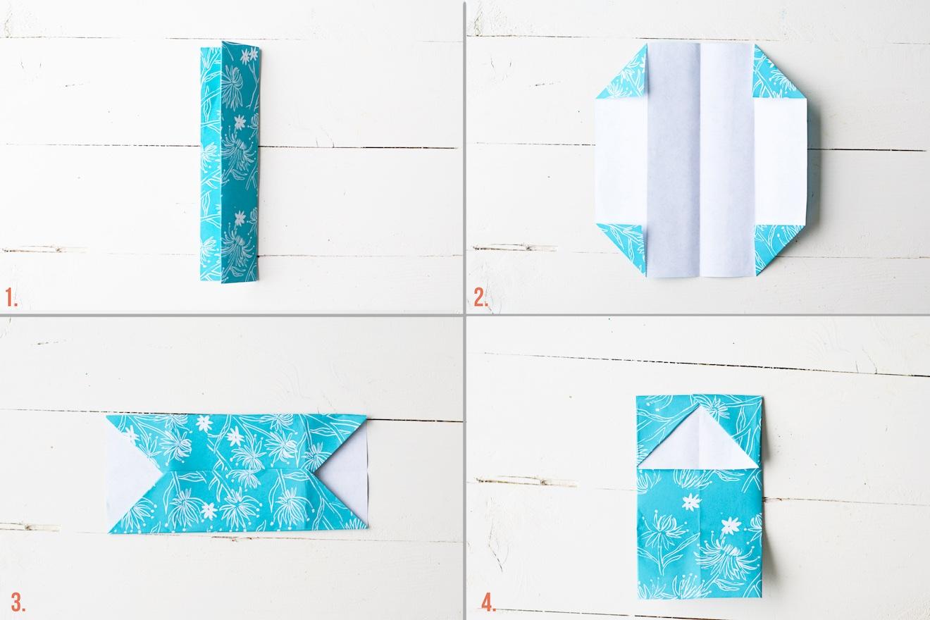 origami visitekaartje houder (3)