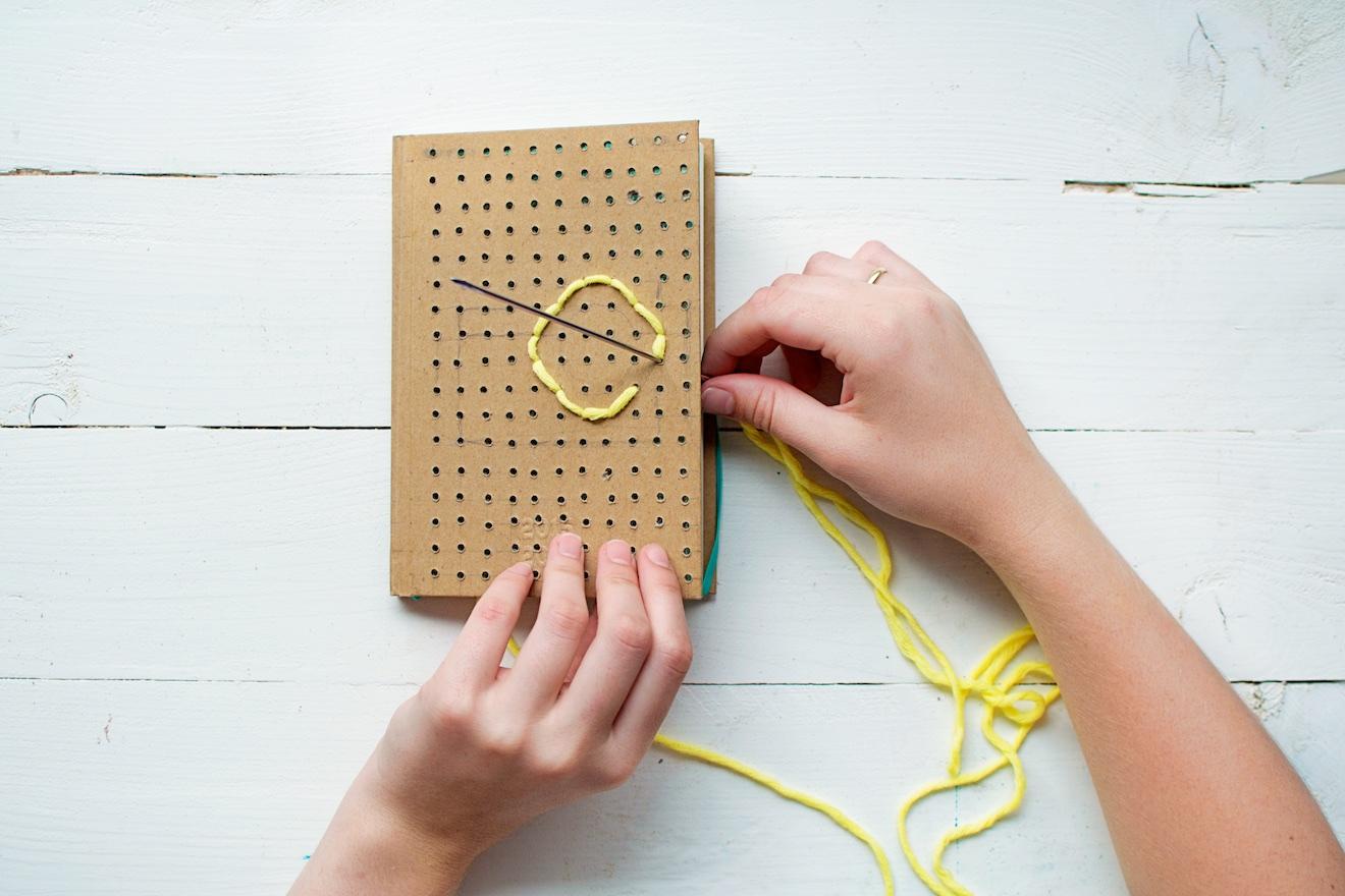 Borduurbare notitieboekjes (10)