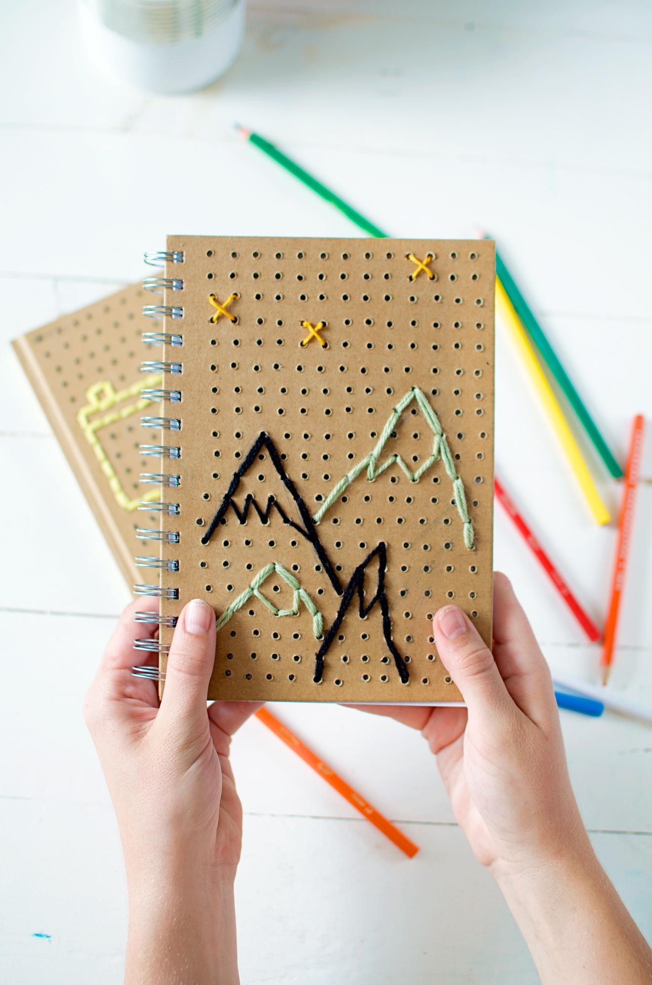 notitieboekjes creatief bewerken