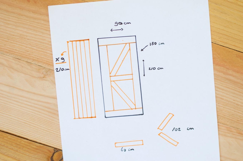 Hoe maak je een schuifdeur voor minder dan 50 euro - Hoe je een scheiding in een ruimte te maken ...