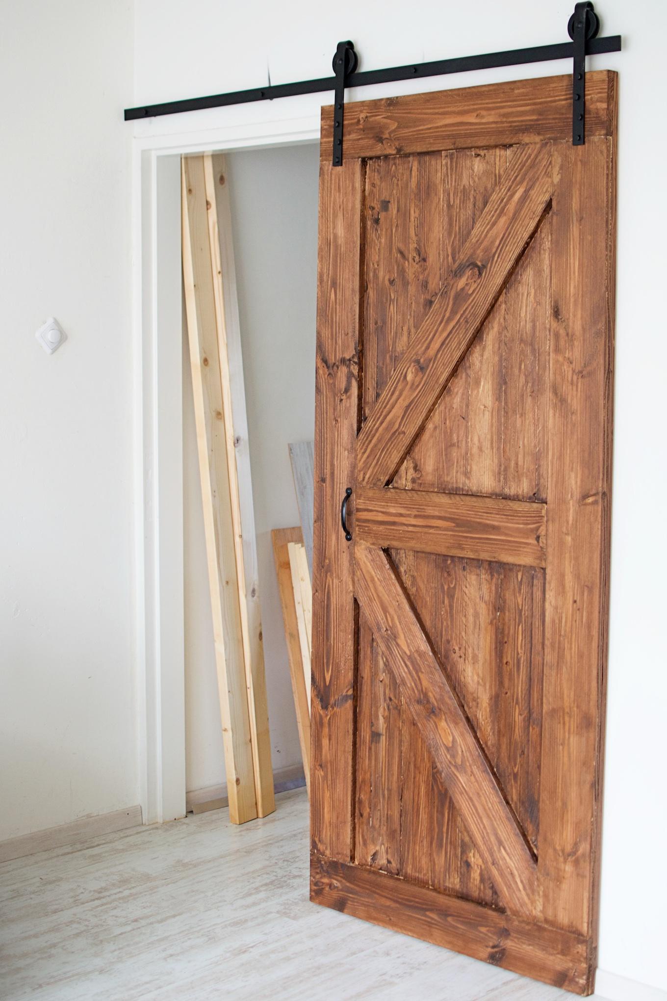 Zelf schuifdeur maken van hout