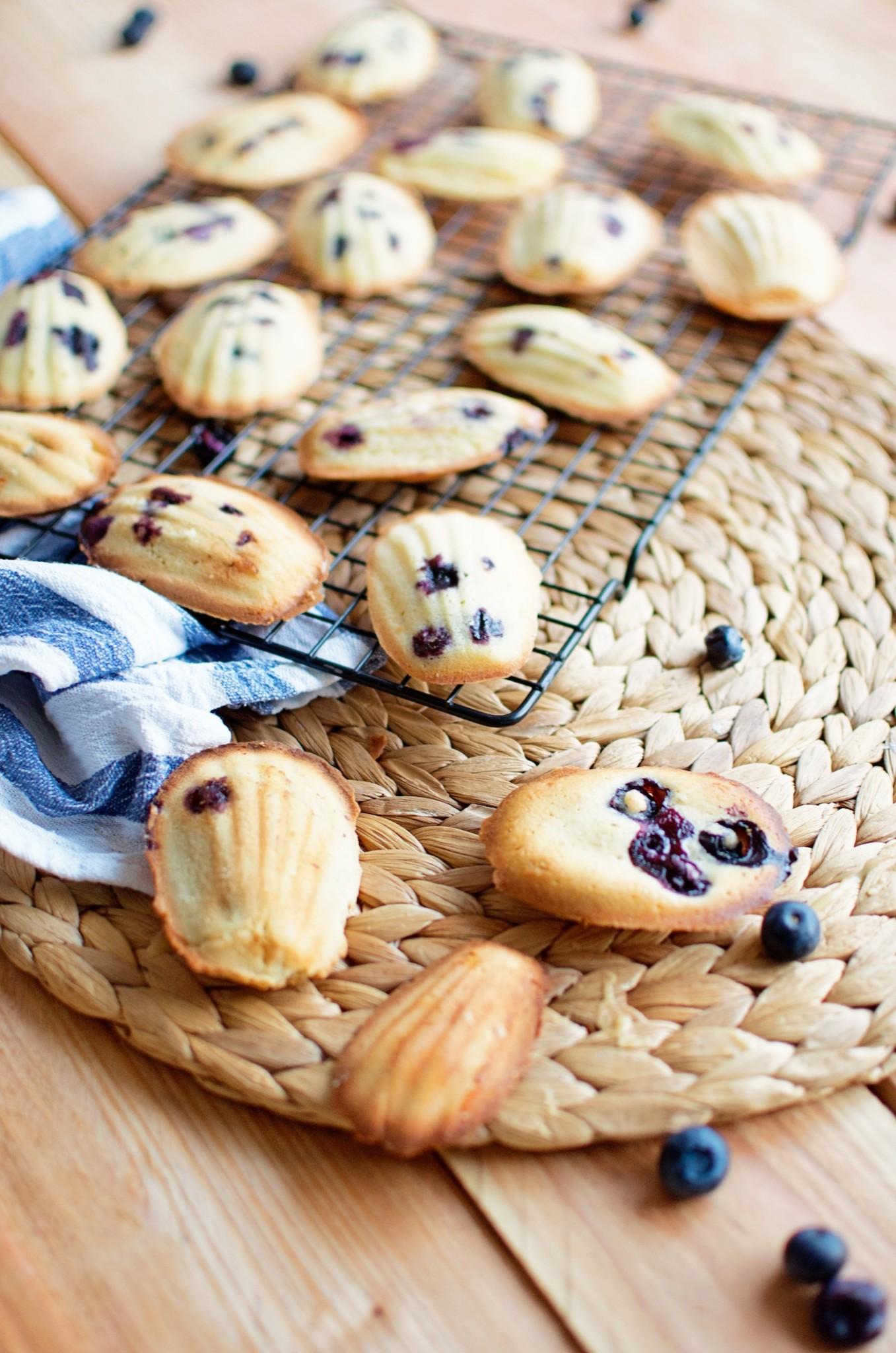 madeleines recept