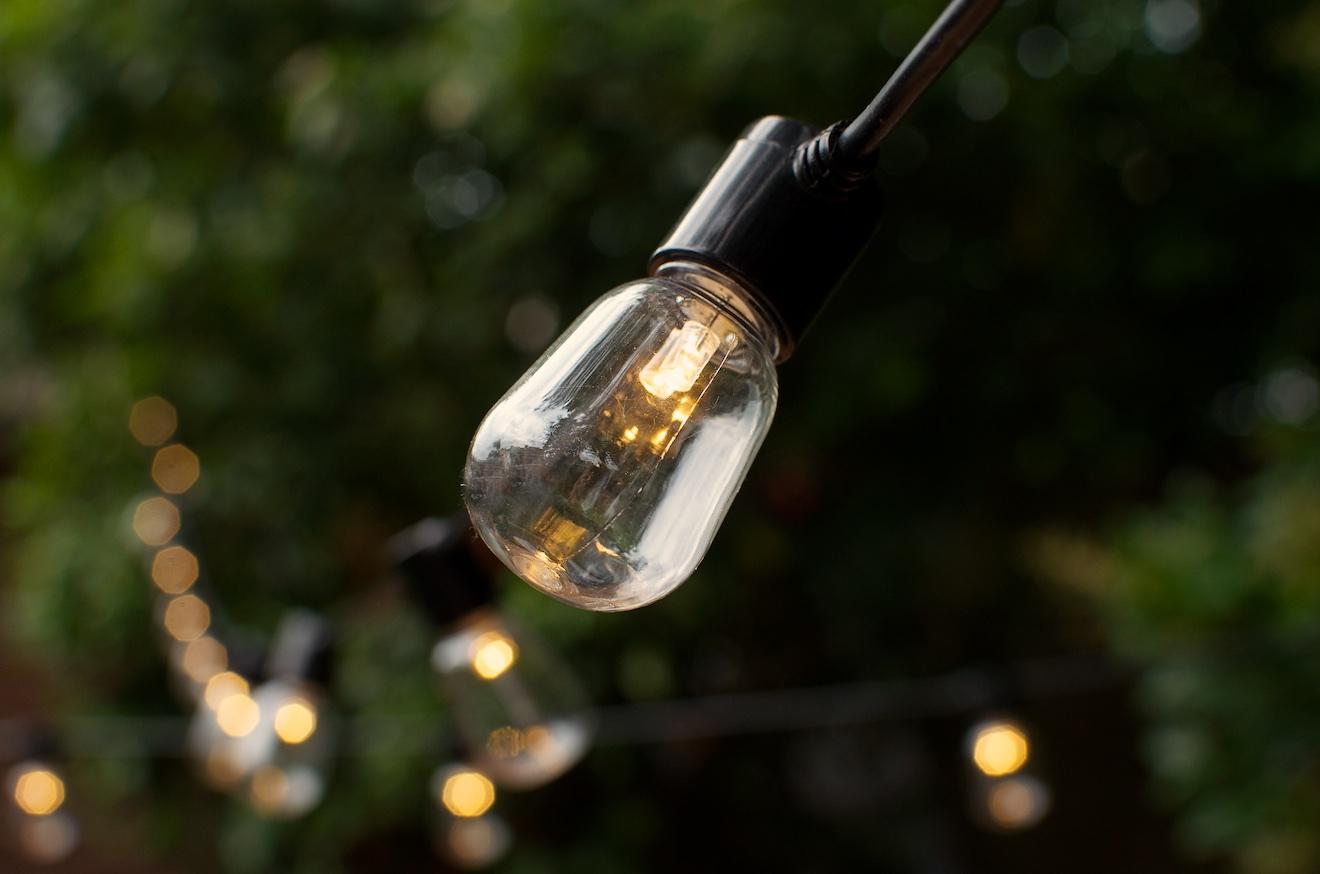 Buitenlampjes, lampjes voor buiten, feestlampjes (1)