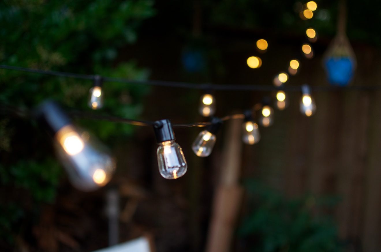 Led Lampjes Tuin : Buiten feestverlichting tips a cup of life