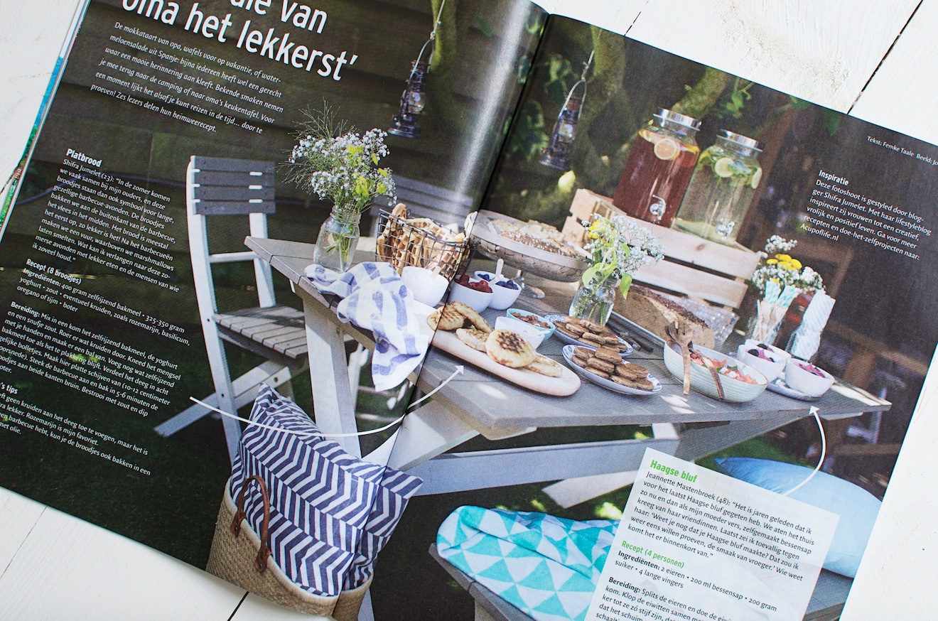 Styling voor tijdschrift EO Visie