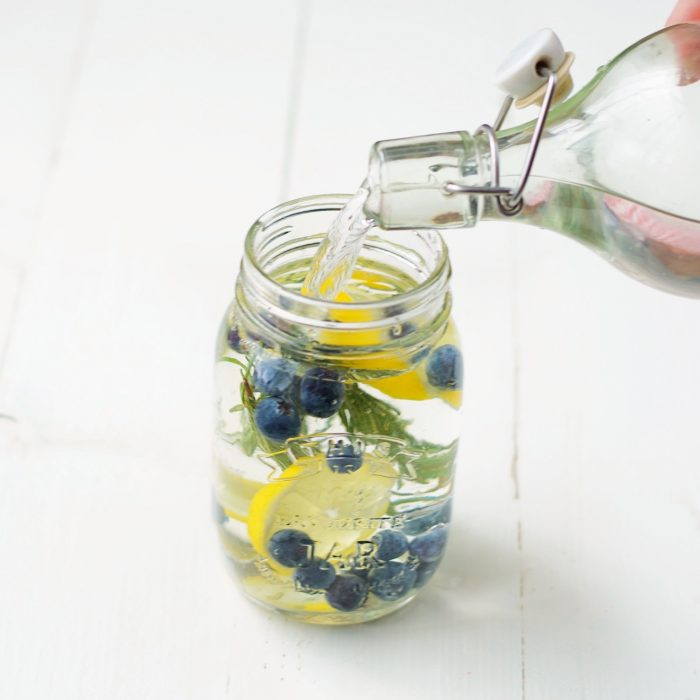 3 x infused water