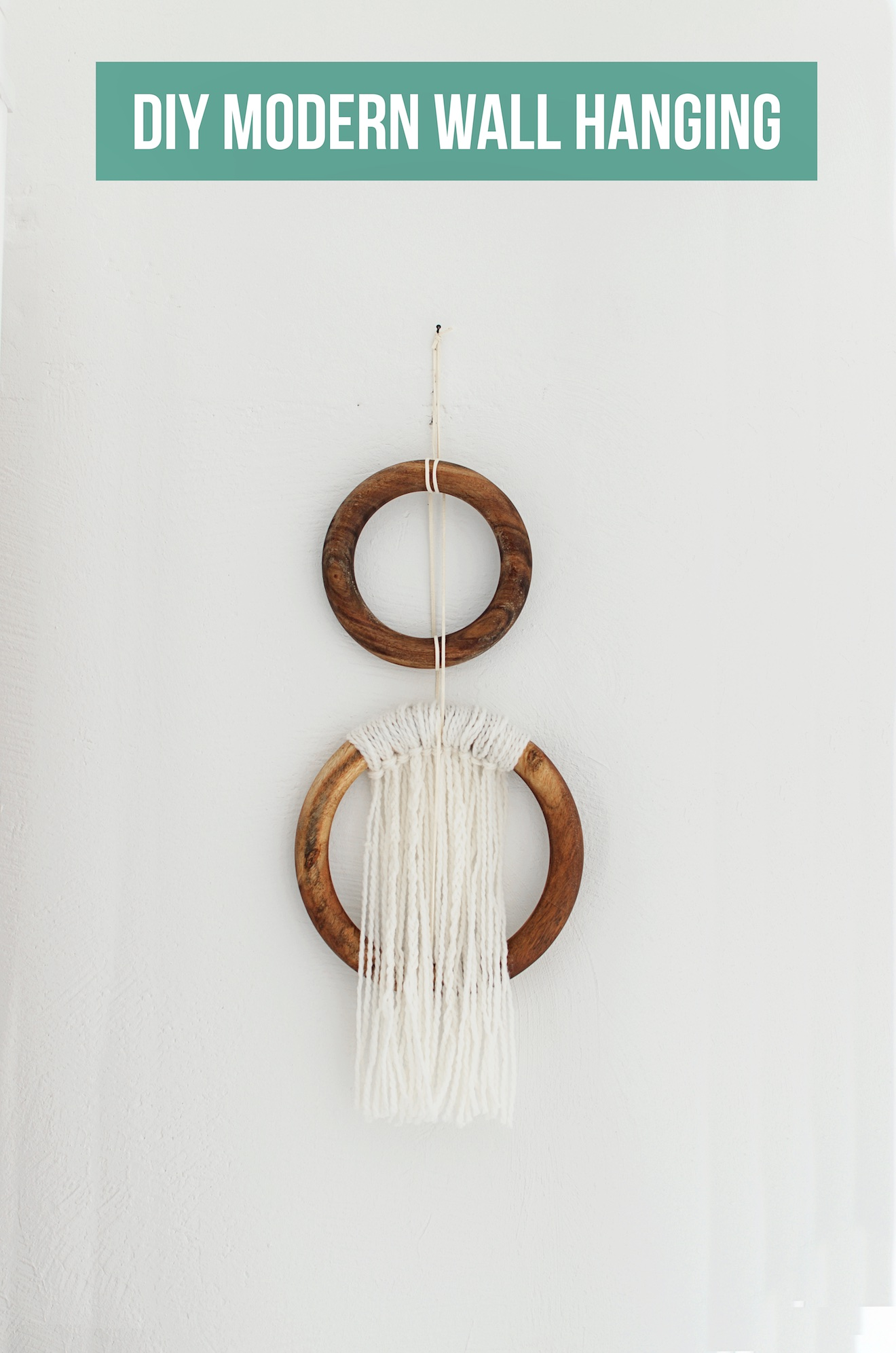 DIY modern wall hanging (18)