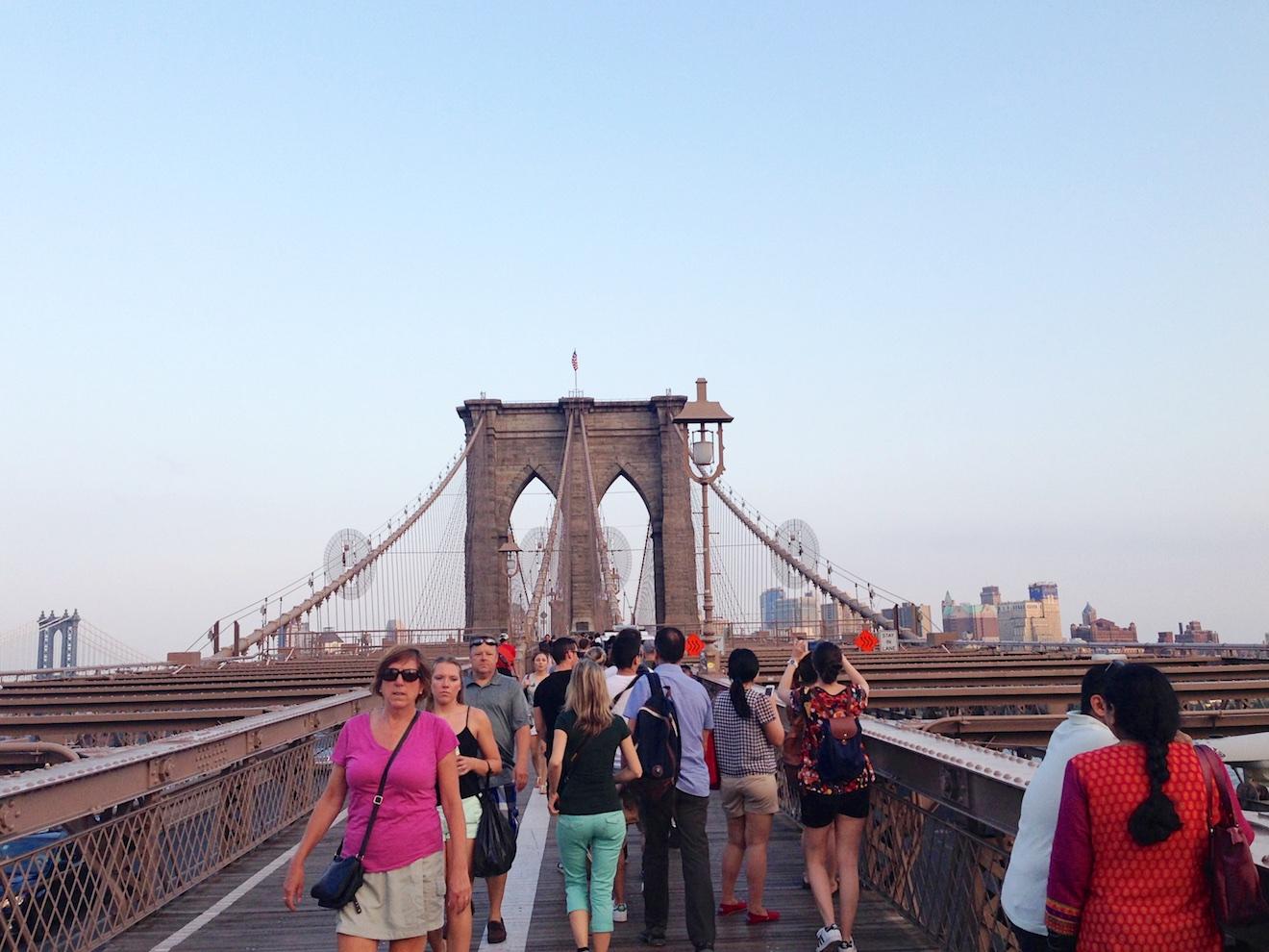 New York reis Shifra en hans