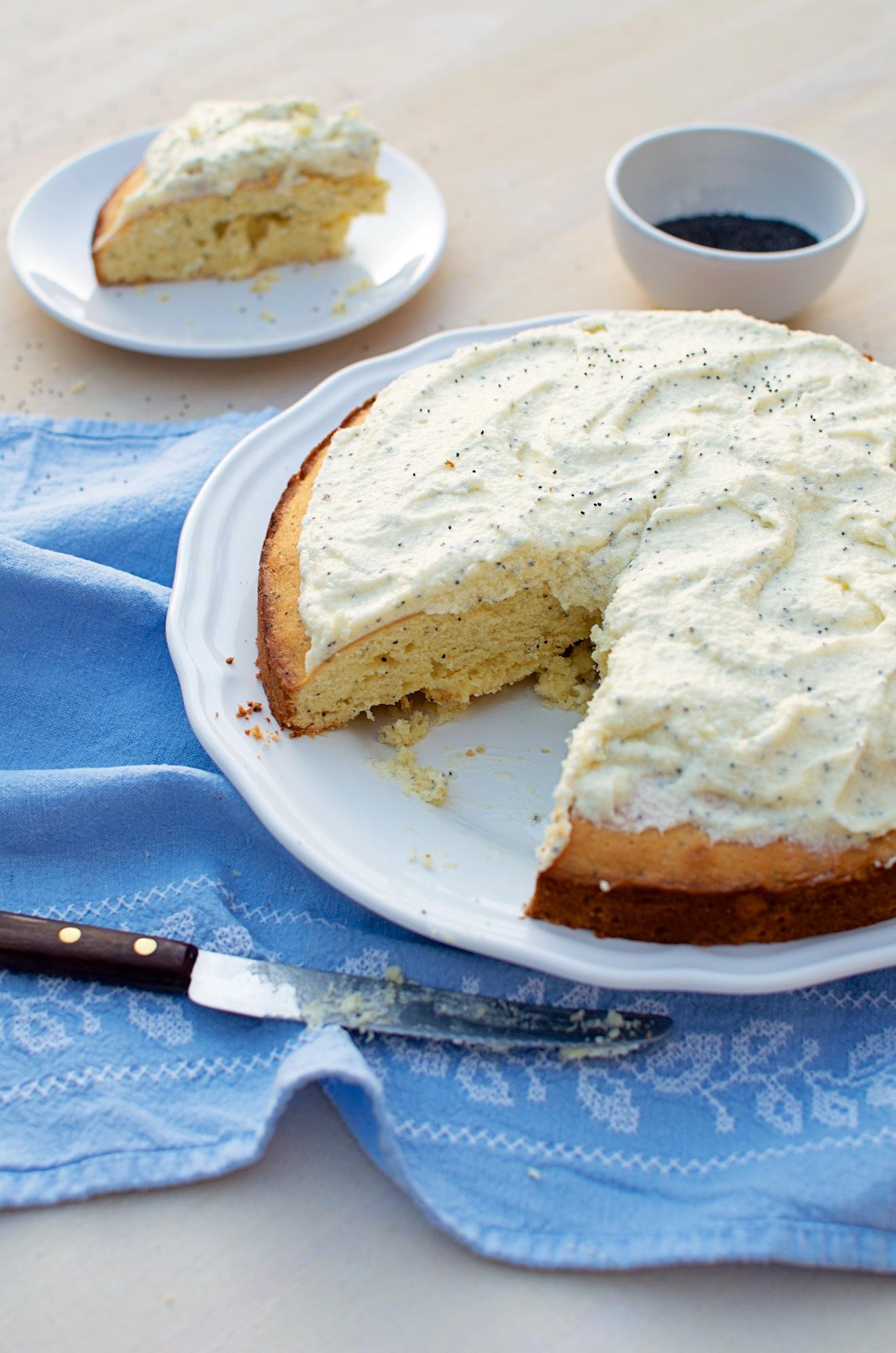 citroen poppyseed taart (2)