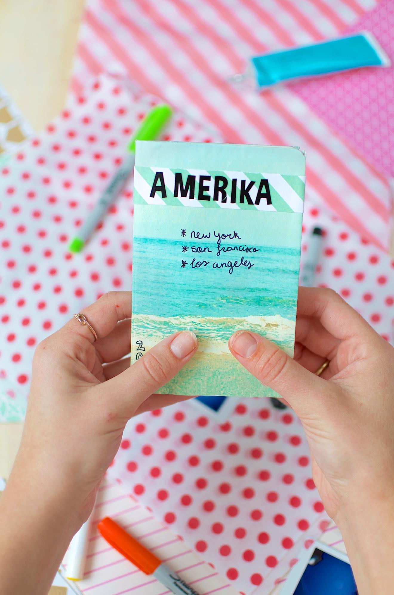 Scrapbook ideeën met een reisdagboek (10)