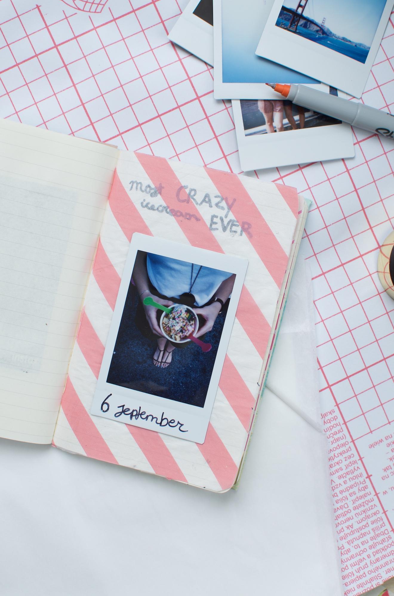 Scrapbook ideeën met een reisdagboek1