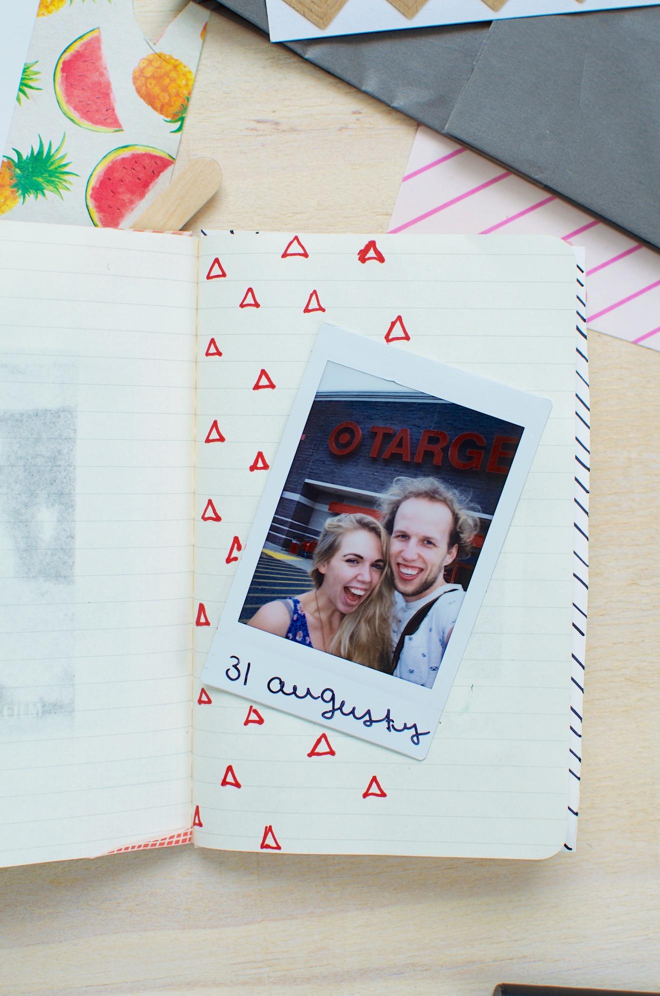 Scrapbook ideeën met een reisdagboek11