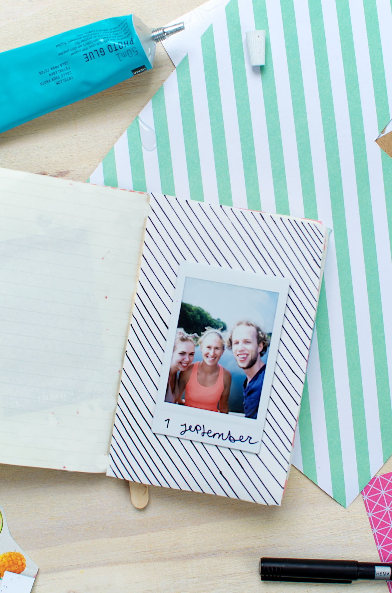 Scrapbook ideeën met een reisdagboek5