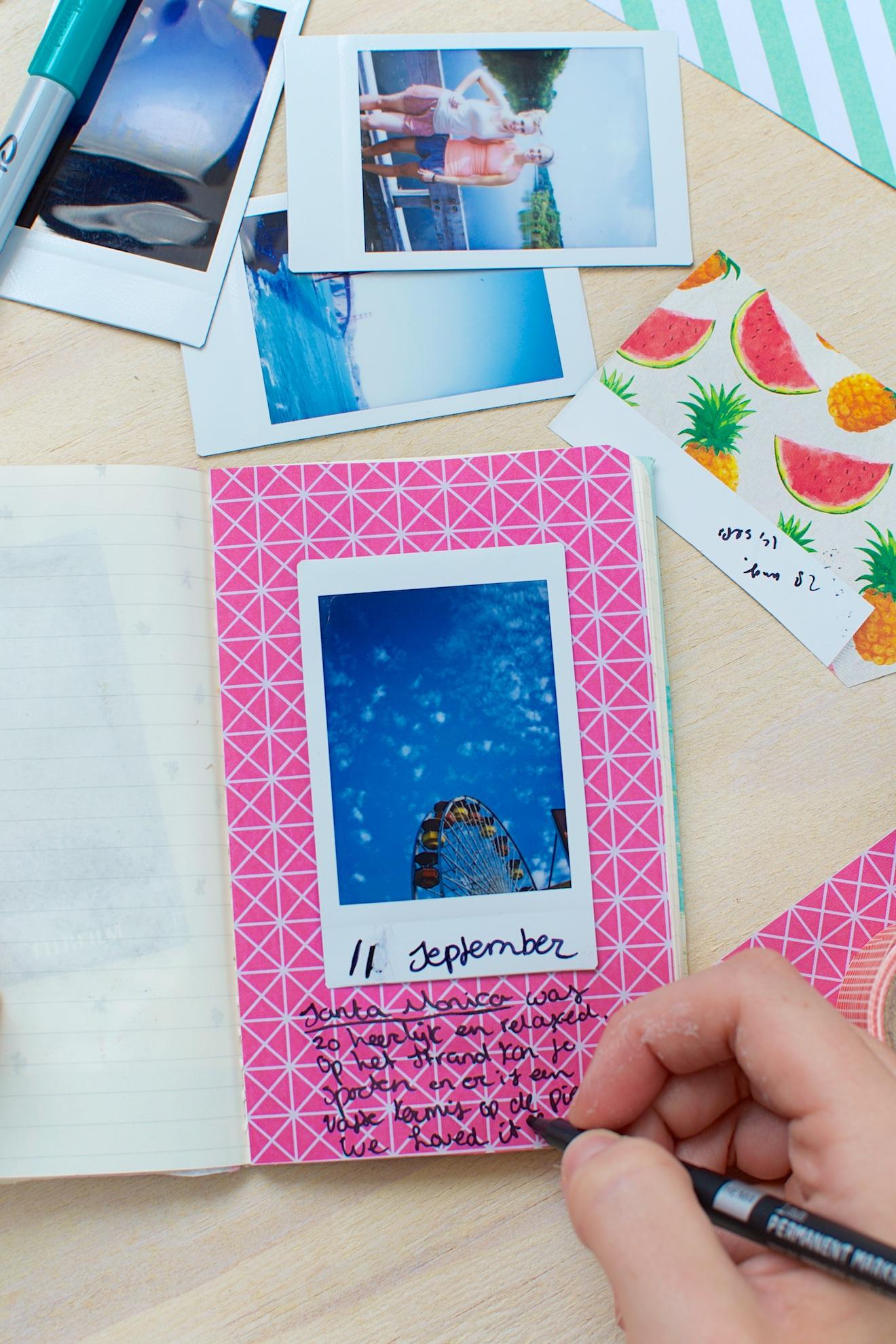 Scrapbook ideeën met een reisdagboek6