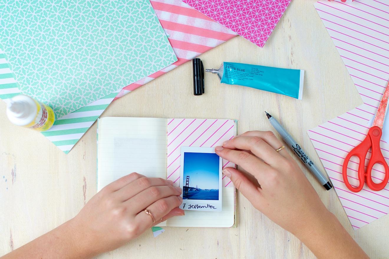 Scrapbook ideeën met een reisdagboek8
