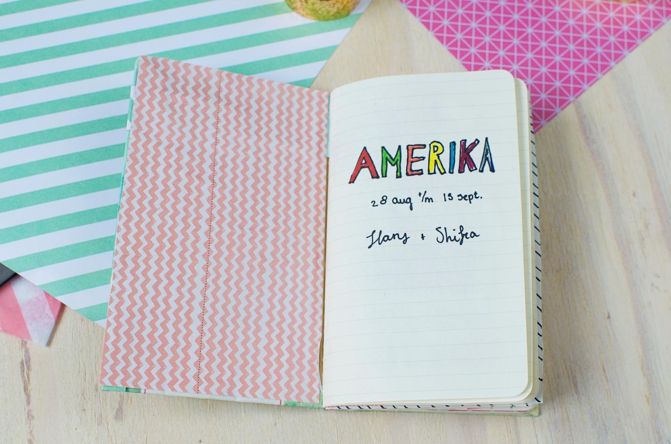 Scrapbook ideeën met een reisdagboek9