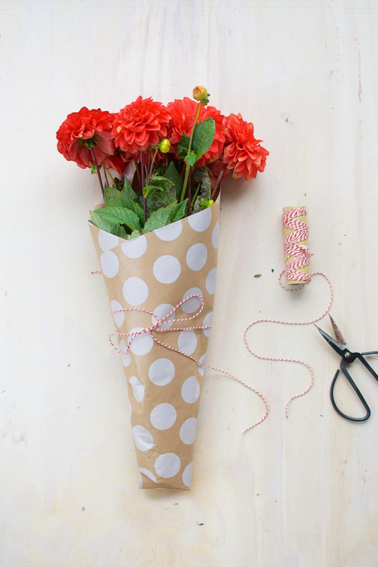 bloemen inpakken (14)