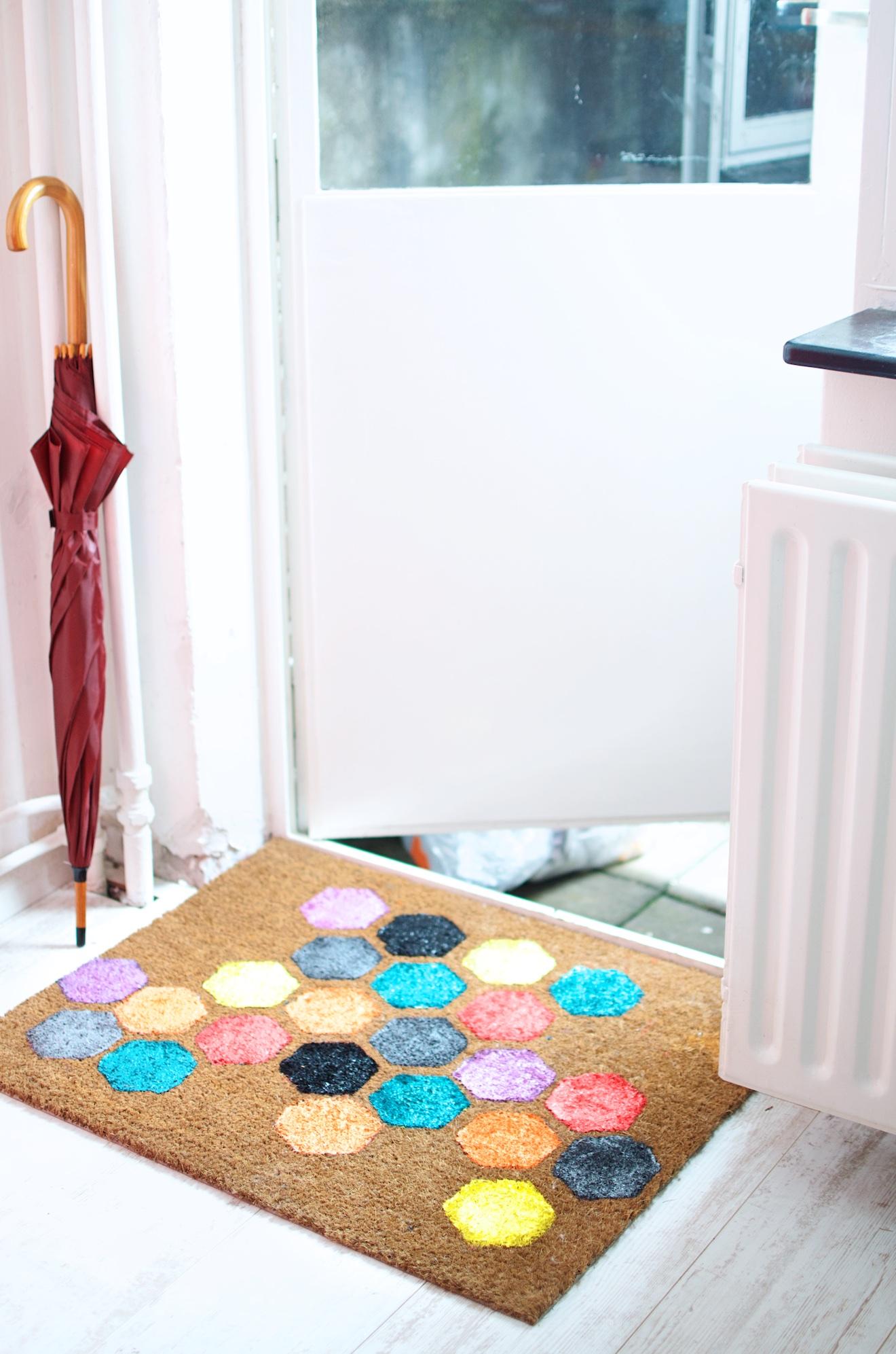 deurmat beschilderen