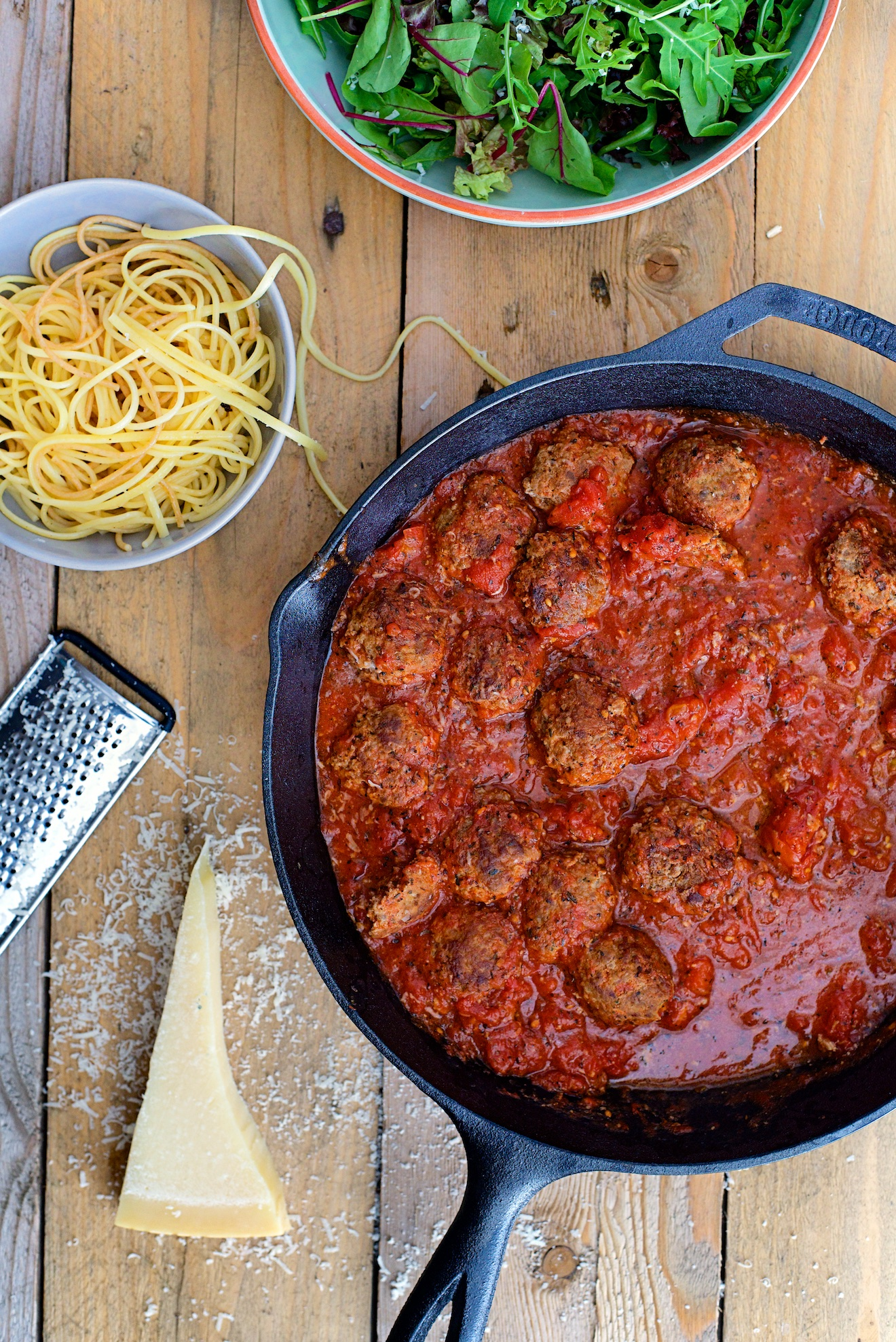 Spaghetti met gehaktballen (2)