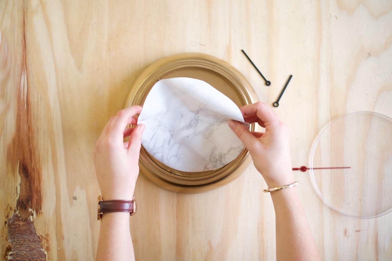 marmeren klok zelf maken (3)