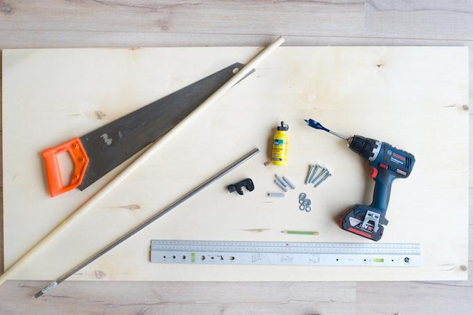 ophangbord keuken DIY (2)
