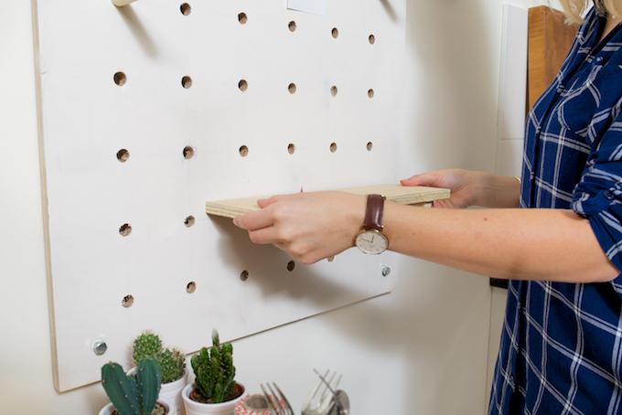 ophangbord keuken DIY (6)