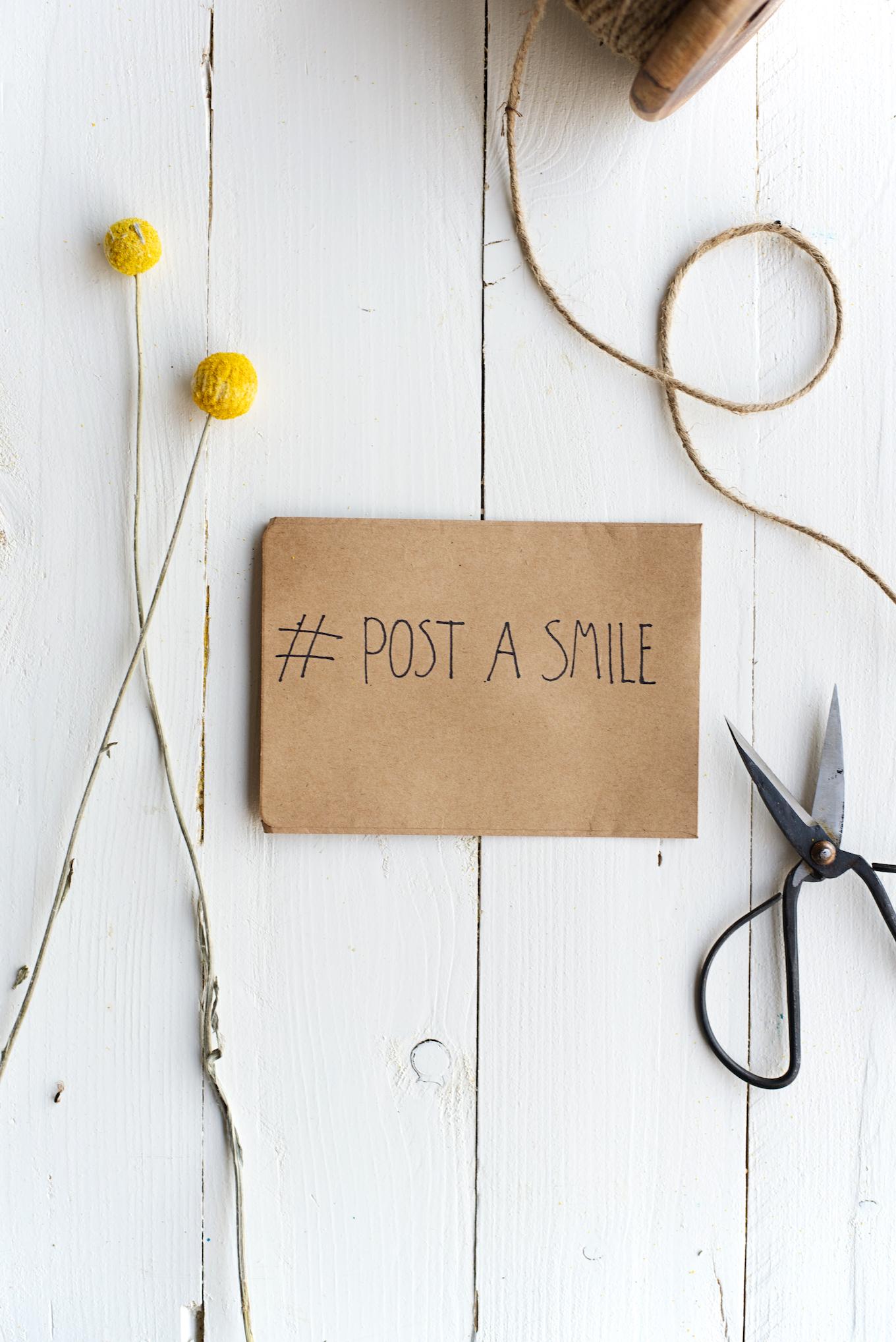 post a smile - kerstkaarten versturen