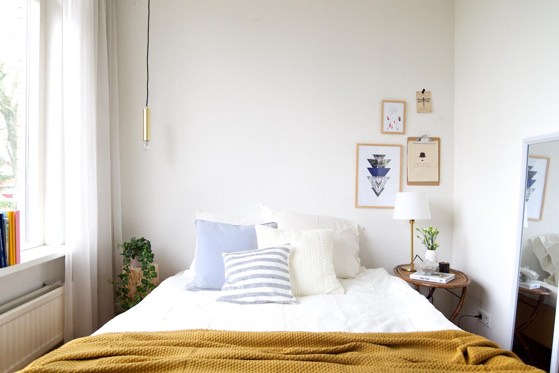 make-over in één dag: de slaapkamer • a cup of life, Deco ideeën
