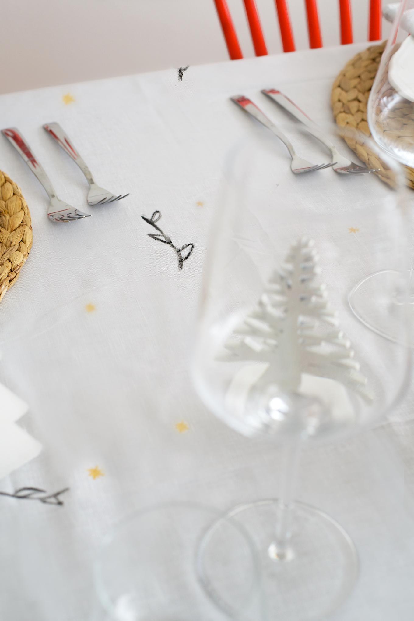 kersttafelkleed maken (6)