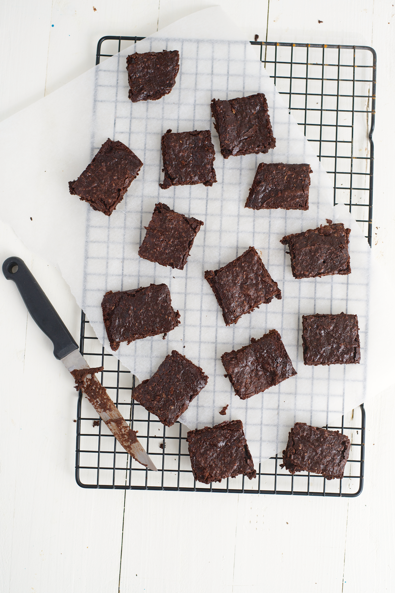 Slanke brownies (ook voor weight watchers) (5)