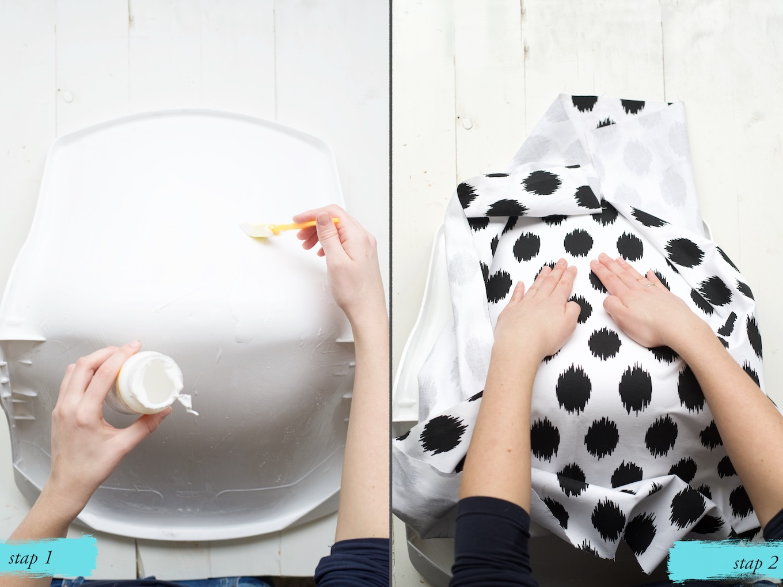 Stof Stoel Bekleden : Try this at home: bureaustoel bekleden met modpodge a cup of life