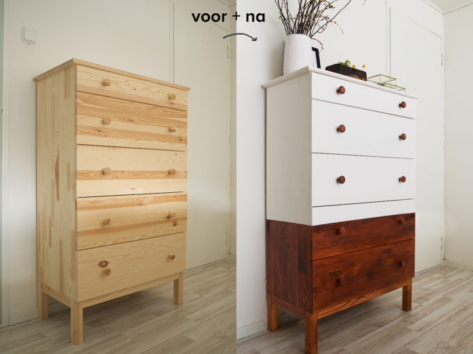Baby Slaapkamer Ikea : Restyled mid century ladekast ikea hack a cup of life