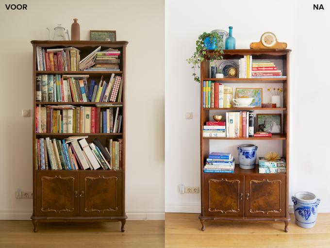 Zo richt je je boekenkast in (2)