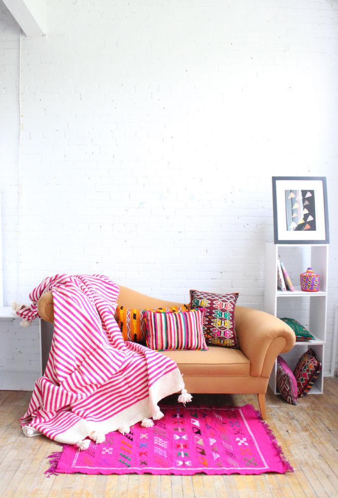 Bohémien interieur kleurrijk