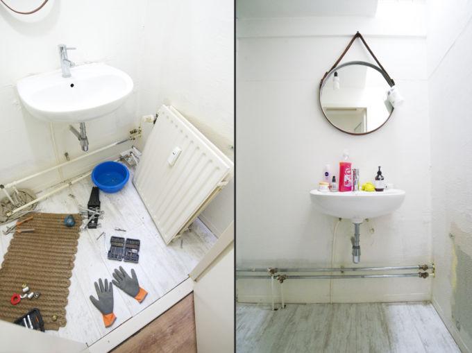 Onze badkamer (BEFORE)