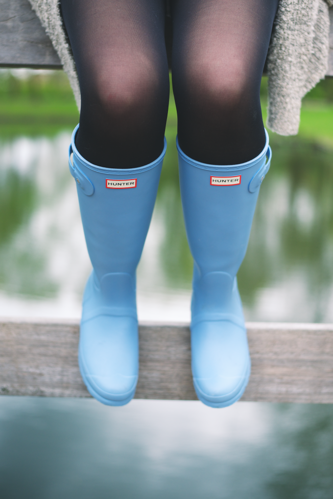 Hunter boots fashion style (5)