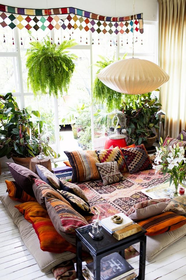 Zo voeg je wat bohemien vibes toe aan je interieur