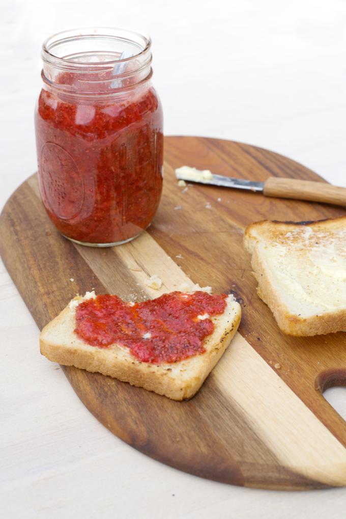 aardbeien jam zelf maken