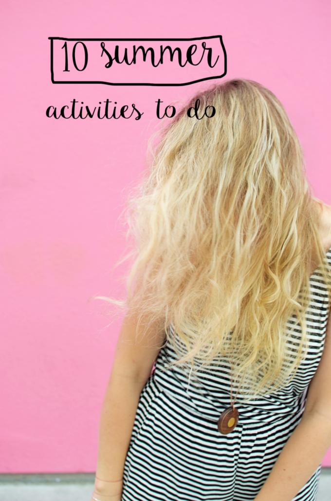 10 zomer activiteiten om deze zomer nog te doen!