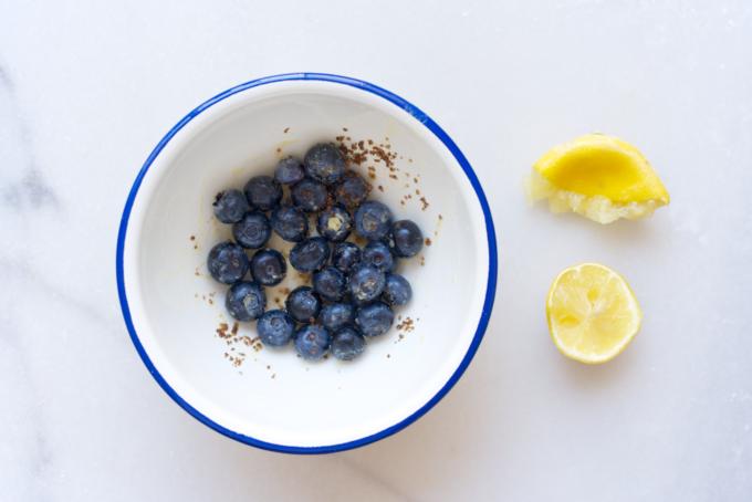 Mini blauwe bessen taartjes (1)