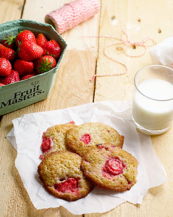 Shortcake aardbeien koekjes