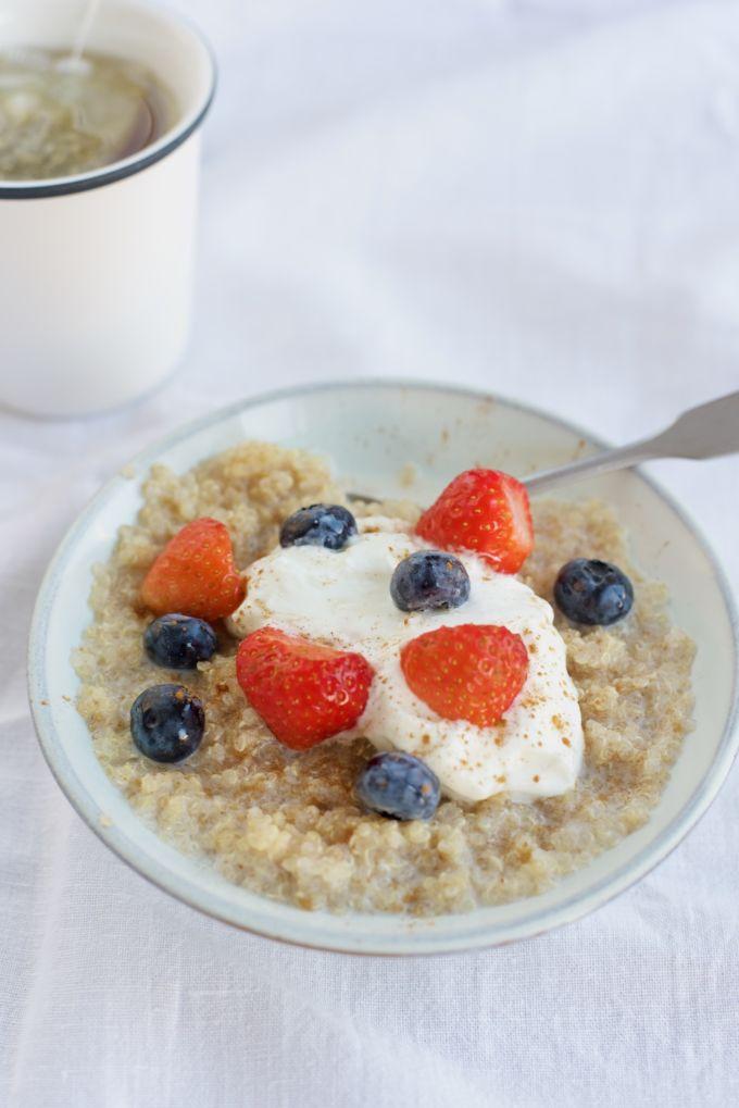Fruit quinoa ontbijt 1