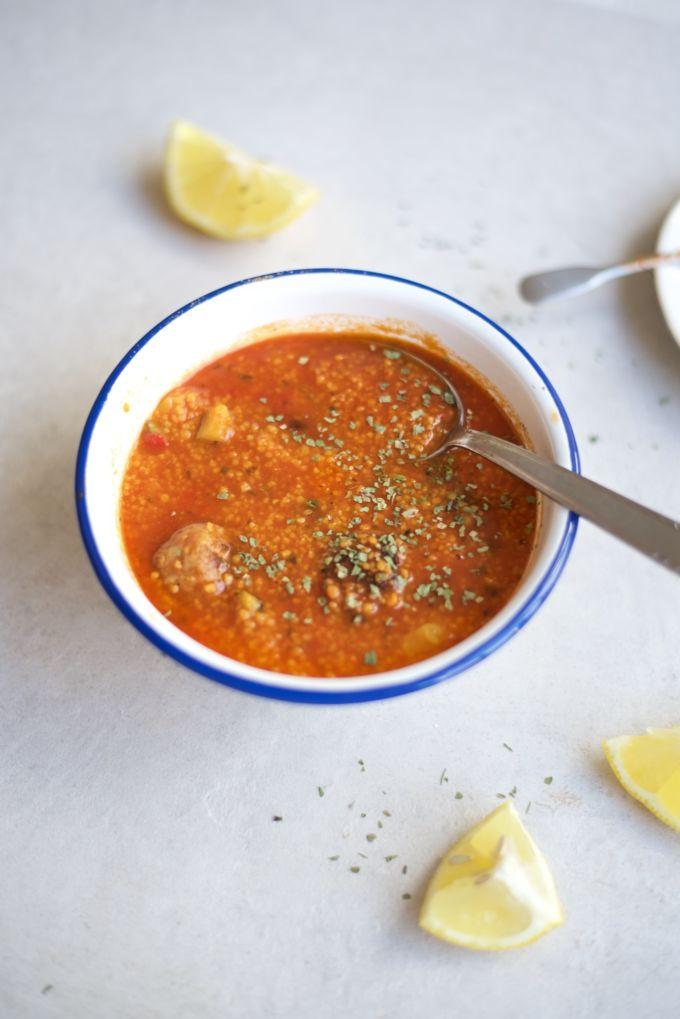 Tomaten couscous met kip 1