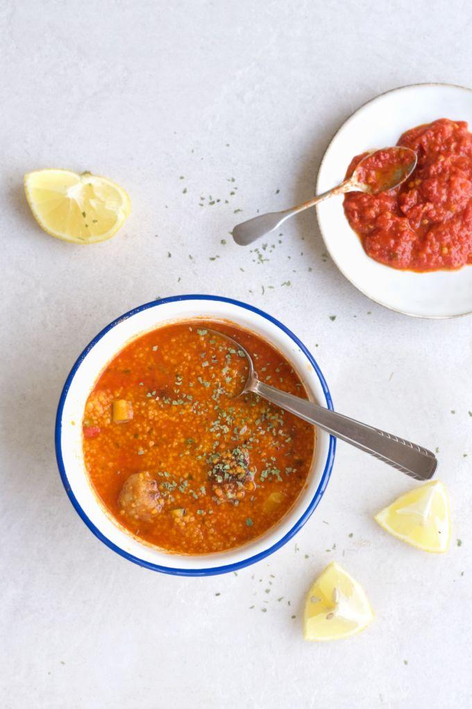 Tomaten couscous met kip 2