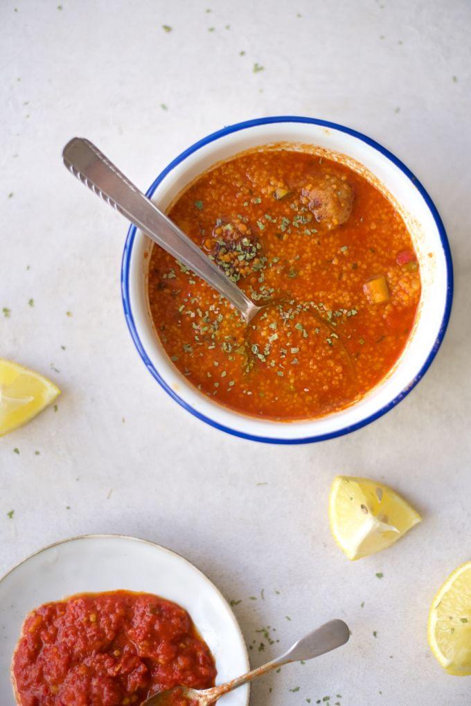 Tomaten couscous met kip 3